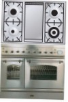 ILVE PD-100FN-MP Stainless-Steel Kitchen Stove \ Characteristics, Photo
