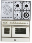 ILVE MD-100SD-VG Antique white Kitchen Stove \ Characteristics, Photo