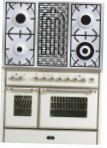 ILVE MD-100BD-VG Antique white Kitchen Stove \ Characteristics, Photo