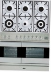 ILVE PDF-1006-MW Stainless-Steel Kitchen Stove \ Characteristics, Photo