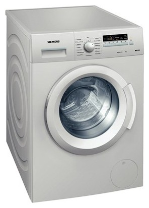 Siemens WS 12K26 S Washing Machine Photo, Characteristics