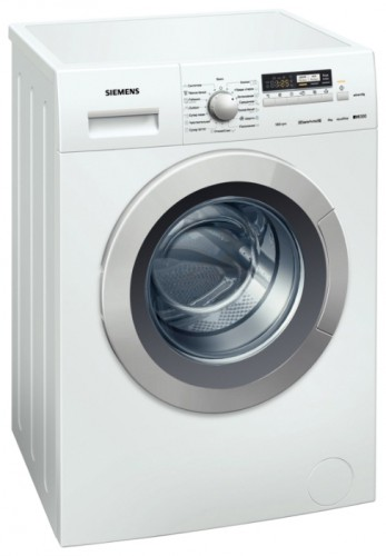 Siemens WM 12K240 Washing Machine Photo, Characteristics