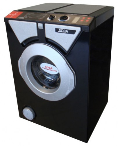 Eurosoba 1100 Sprint Black and Silver Washing Machine Photo, Characteristics