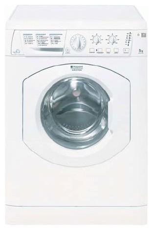 Hotpoint-Ariston ASL 105 Washing Machine Photo, Characteristics