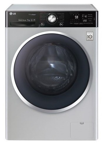 LG F-12U2HBS4 Washing Machine Photo, Characteristics