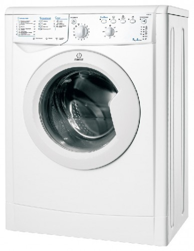 Indesit IWSB 6105 Washing Machine Photo, Characteristics