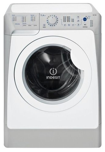 Indesit PWSC 6107 S Washing Machine Photo, Characteristics