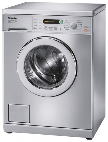 Miele W 5820 WPS сталь Washing Machine Photo, Characteristics