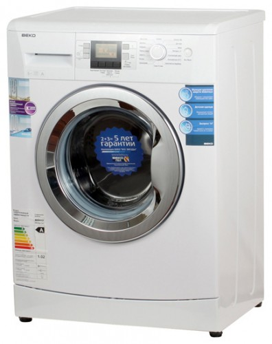 BEKO WKB 61241 PTMC Washing Machine Photo, Characteristics