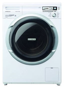 Hitachi BD-W80MV WH Washing Machine Photo, Characteristics