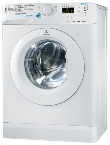 Indesit NWS 6105 Washing Machine Photo, Characteristics