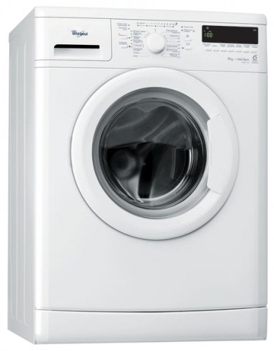 Whirlpool WSM 7100 Washing Machine Photo, Characteristics